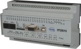 ISDN OPC field device IT251I-OPC for DIN rails with 20 digital switching inputs and 6 relais outputs